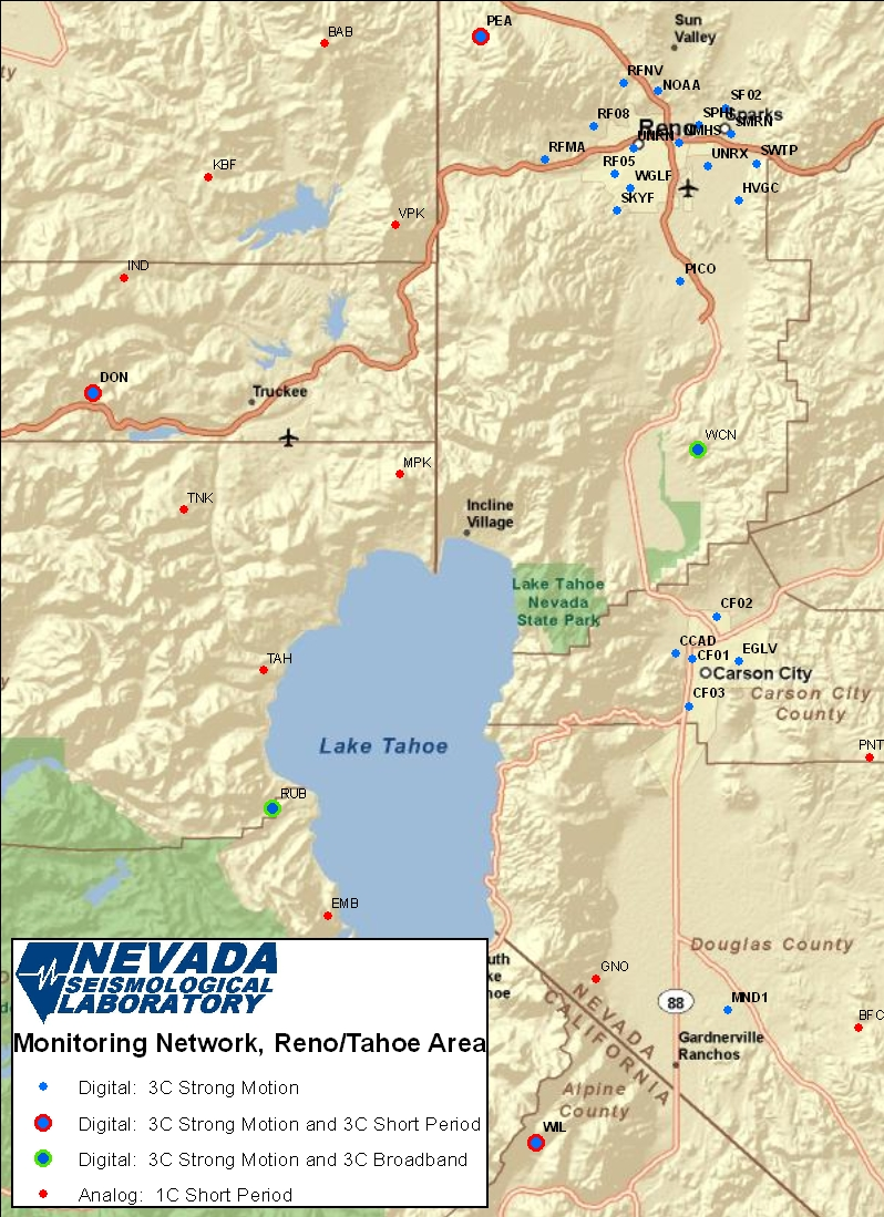 Reno Area Stations